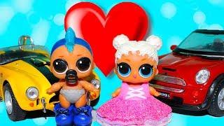 Куклы лол 3 серия играют ДЕТСКИЙ САД ПЕРВАЯ ЛЮБОВЬ Мультик про Игрушки и СЮРПРИЗЫ | TOYS AND DOLLS