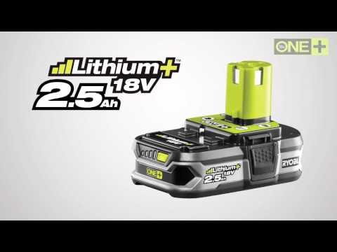 Ryobi Batteri  2,5 Ah - film på YouTube