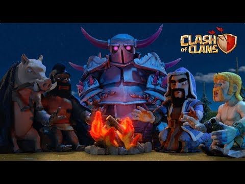 Lunar New Year Storytime! EXCLUSIVE Warrior Queen skin (Clash of Clans)