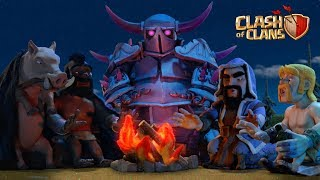 Follow us on our Socials! Twitter ► https://twitter.com/ClashofClans/ Instagram ►https://www.instagram.com/clashofclans  Facebook ►https://www.facebook.com/ClashofClans   Attack. Defend. Strategize. Download for free for mobile devices. http://supr.cl/ThisArmy  From rage-filled Barbarians with glorious mustaches to pyromaniac wizards, raise your own army and lead your clan to victory! Build your village to fend off raiders, battle against millions of players worldwide, and forge a powerful clan with others to destroy enemy clans. PLEASE NOTE! Clash of Clans is free to download and play, however some game items can also be purchased for real money   Also, under our Terms of Service and Privacy Policy, you must be at least 13 years of age to play or download Clash of Clans. A network connection is also required.  FEATURES - Build your village into an unbeatable fortress  - Raise your own army of Barbarians, Archers, Hog Riders, Wizards, Dragons and other mighty fighters - Battle with players worldwide and take their Trophies - Join together with other players to form the ultimate Clan - Fight against rival Clans in epic Clan Wars  - Build 18 unique units with multiple levels of upgrades - Discover your favorite attacking army from countless combinations of troops, spells, Heroes and Clan reinforcements  - Defend your village with a multitude of Cannons, Towers, Mortars, Bombs, Traps and Walls - Fight against the Goblin King in a campaign through the realm  Chief, are you having problems? Visit http://supercell.helpshift.com/a/clas...  Privacy Policy: http://www.supercell.net/privacy-policy/  Terms of Service: http://www.supercell.net/terms-of-ser...  Parent's Guide: http://www.supercell.net/parents  #clashofclans #lunarnewyear #warriorqueen