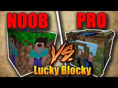 NOOB VS PRO LUCKY BLOCKY!