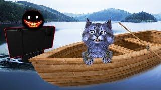 ОДНА НОЧЬ в ЛАГЕРЕ НА ОСТРОВЕ! / Sailing! / РОБЛОКС / ROBLOX