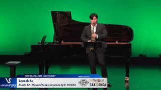 Leesak Ko plays Étude 12 – Douze Études Caprices by Eugène BOZZA