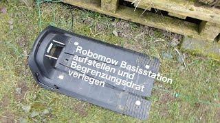 Robomow RC308 Test Rasenmäher Roboter - Modell 2016 Begrenzungskabel verlegen DIY vLog #09