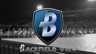 """Bluecoats 2017 Jagged Line """"Grow Till Tall"""" Backfield View"""
