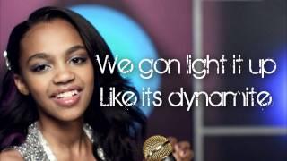 Dynamite | China McClain | Lyrics HD |  A.N.T Farm