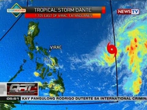 QRT: Weather update as of 5:50 p.m. (April 26, 2017)