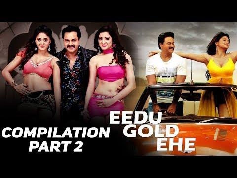 Eedu Gold Ehe | Hindi dubbed Movie | Compilation Part 2 | Sunil | Sushma Raj | Richa Panai