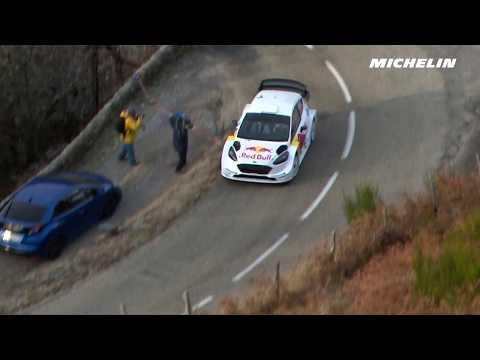 Ogier testing - 2018 WRC Rally Monte-Carlo - Michelin Motorsport