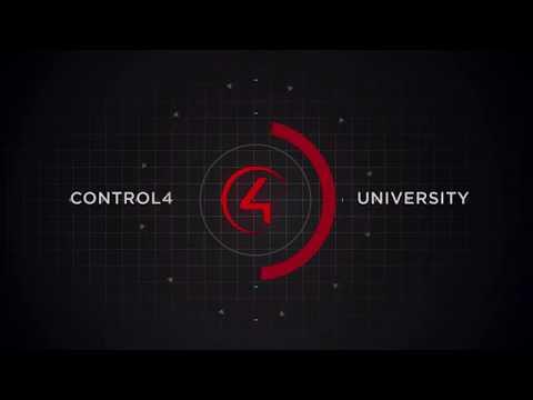 Control4 Training - YouTube