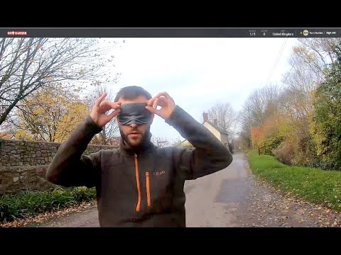 Real Life Geoguessr - Blindfolded and Dumped in a Random UK Location - PART 1