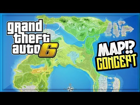 Updated Huge Gta 6 Gta 5 City Expansion Concept Map With Detailed ...