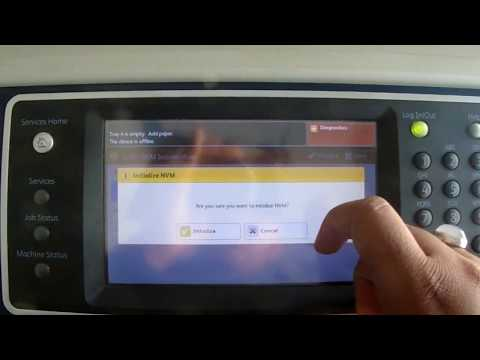 Flashing/Upgrading Firmware On XEROX WORKCENTER 5755 Using USB