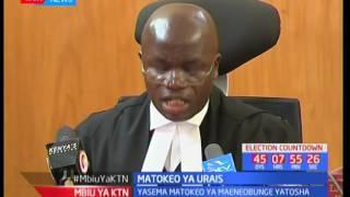 Mahakama ya Rufaa yatupilia mbali kesi ya IEBC