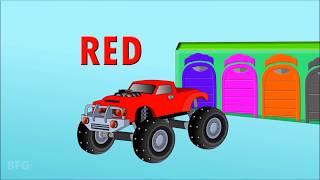 Учим цвета с Машинами.  Развивающие мультфильмы для детей  Учим цвет