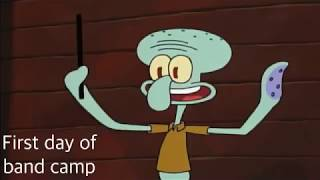 Marching Band Portrayed By Spongebob