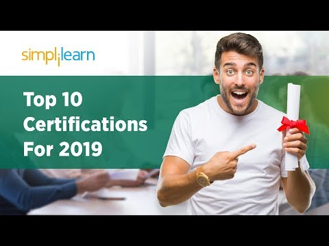 Top 10 Certifications For 2019 | Highest Paying Certifications 2019 ...