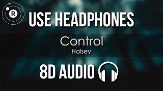 Halsey   Control (8D AUDIO)