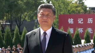 President Xi attends commemoration of 75th anniversary of war victory