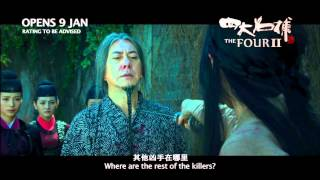 THE FOUR 2 四大名捕 2 - Main Trailer - Opens 9 Jan in SG