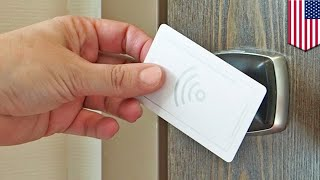 Hackers can create master key from a single hotel keycard - TomoNews