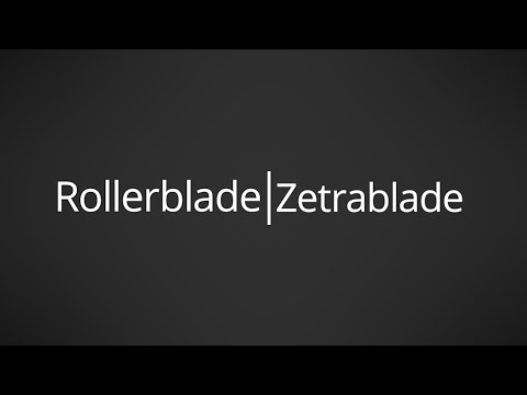 Video: 2017 Rollerblade Zetrablade Mens and Womens Inline Skate Overview by InlineSkatesDotCom