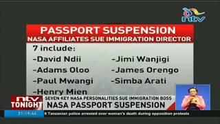NASA affiliates sue immigration director over passport suspension