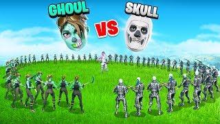 HALLOWEEN SHOWDOWN -  Ghoul Trooper vs Skull Trooper | SKIN WARS 5