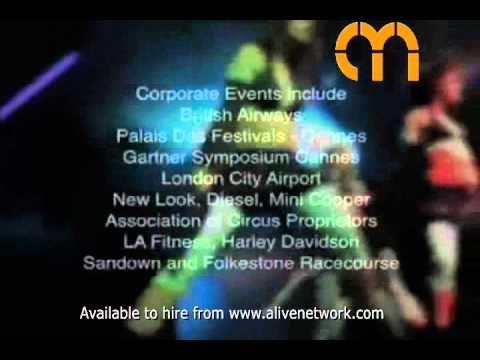 Video Cyber Burlesque Dancer Kent