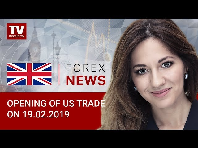 21.02.2019 : USD slips in early New York trade (EUR/USD, USDX)