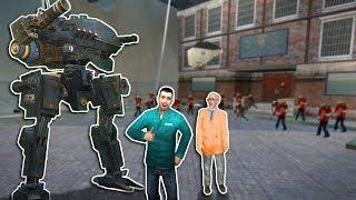ZOMBIE SURVIVAL WITH MECH!? - Garry's Mod Gameplay - Gmod Sandbox Zombie Survival