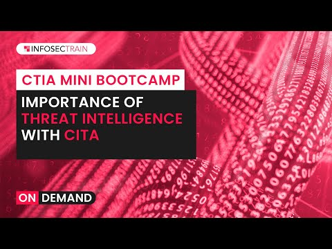 Certified Threat Intelligence Analyst Tutorial (CTIA) | Introduction to ...