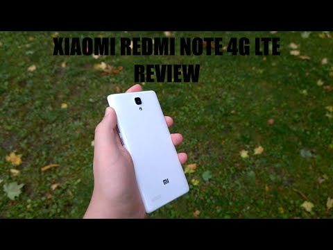 Xiaomi Redmi Note 4G LTE Review