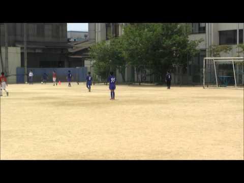 2012.7.29 佃南小学校グランド 対 フレクティブFC ○ 2 - 0 【 前半