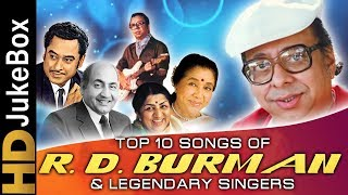 Top 10 Songs of R.D. Burman & Legendary Singers | Kishore