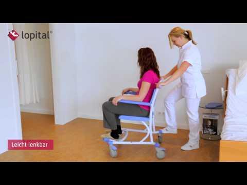 Lopital - Lehrvideo - Tango Dusch-toilettenstuhl (DE)