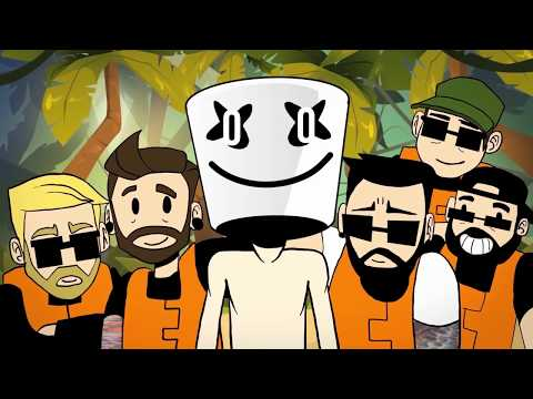 Marshmello Ft. A Day To Remember - Rescue Me (Official Lyric Video)