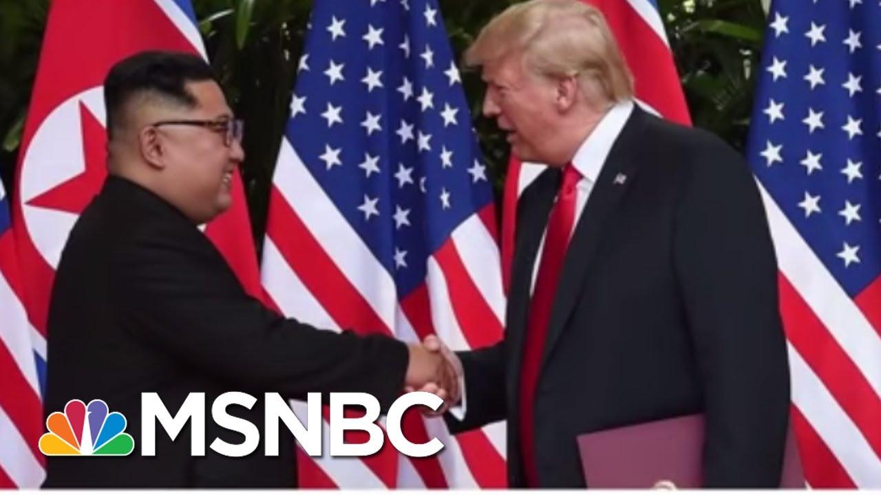 President Donald Trump's Art Of The Film...Movie Trailer Diplomacy   MSNBC thumbnail