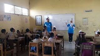 Puluhan Murid SDN 1 Babadan Cirebon Antusias Ikuti Pertamina Mengajar