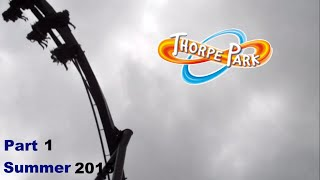 A Rollercoaster of a Day - Thorpe Park - Summer 2015 - Part 1