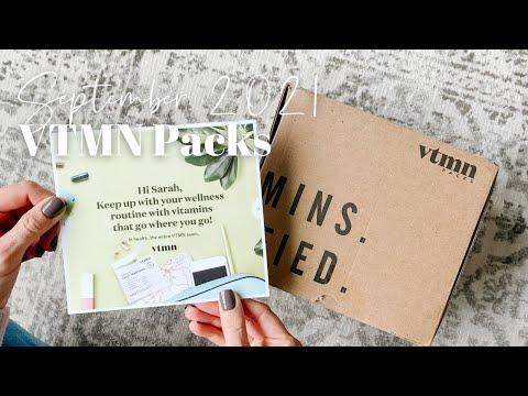 VTMN Packs Unboxing September 2021