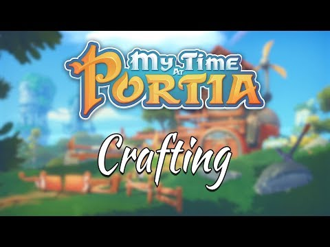 My Time At Portia: Crafting Trailer thumbnail
