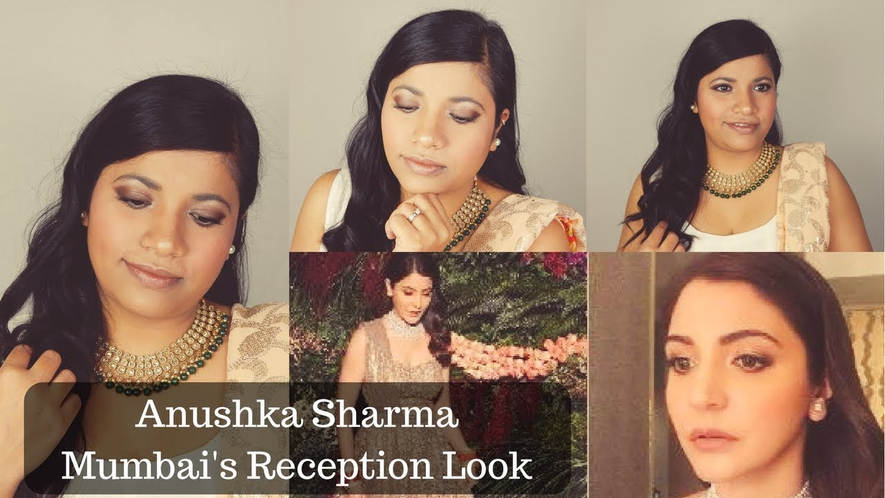 Anushka Sharma Mumbai Reception Look Inspired Celebrity Makeup Tutorial Episode 13