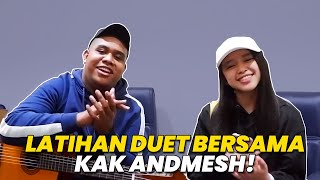 ANNETH DAILY VLOG #1   BTS COVER WITH KAK ANDMESH   HANYA RINDU