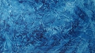 Acrylic Paint And Plastic Wrap Background Painting