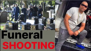 Shots Fired At Clive Pinnock (Mr Ibiza) Funeral In Gorton, Manchester