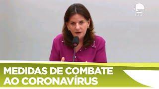 AÇÕES PREVENTIVAS CORONAVIRUS NO BRASIL - Debate de propostas da Comissão - 09/04/2020 16:00