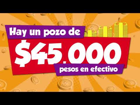 45 mil pesos en efectivo