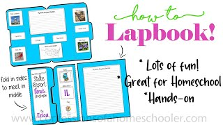 How To Lapbook Tutorial