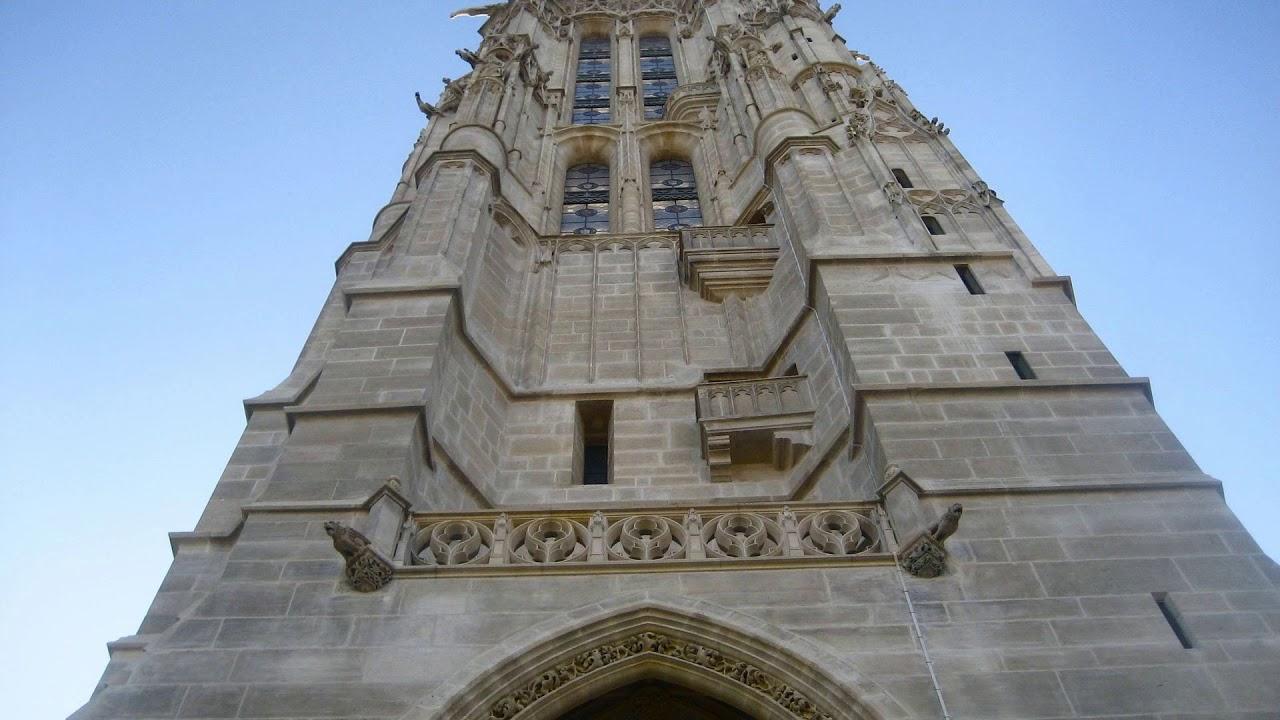 tower, tour, saint-jaques, paris, france
